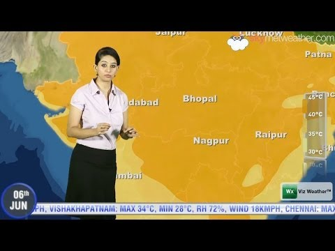 06/06/14   Skymet Weather Report for India