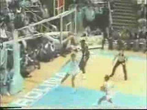 1985-86 CAROLINA BASKETBALL HIGHLIGHTS PART 2 Video