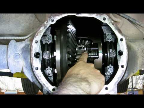 GM locking differential - how it works