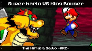[ Sprite Animation ] Mario VS. Bowser - Versus Battle #3