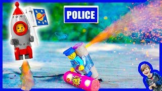 Lego City Police ROCKET MAN Minifig - Favorite Skits!
