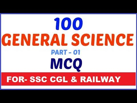 general science for ssc cgl ,railway | General Science for ssc cgl , railway exam