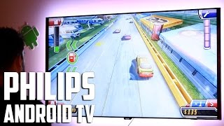 Televisor Philips con Android TV