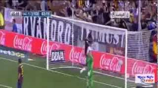 Valencia vs Barcelona 2-3 (01-09-2013) match highlights