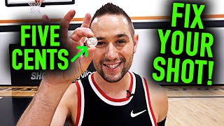 JUMPER HACK: Fix Your Guide Hand with This Amazing 5 Cent Trick | Basketball Shooting Tips