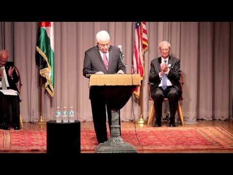 President Mahmoud Abbas September 22, 2014 Speech at the Cooper Union