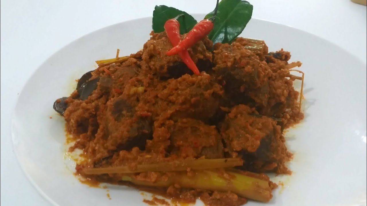 How To Make Beef Rendang (Recipe), ビーフルンダンの作り方 ...