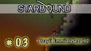 Starbound Co-Op / Sezon 2 # 03 [ Türkçe ] - Kum Firtinasi