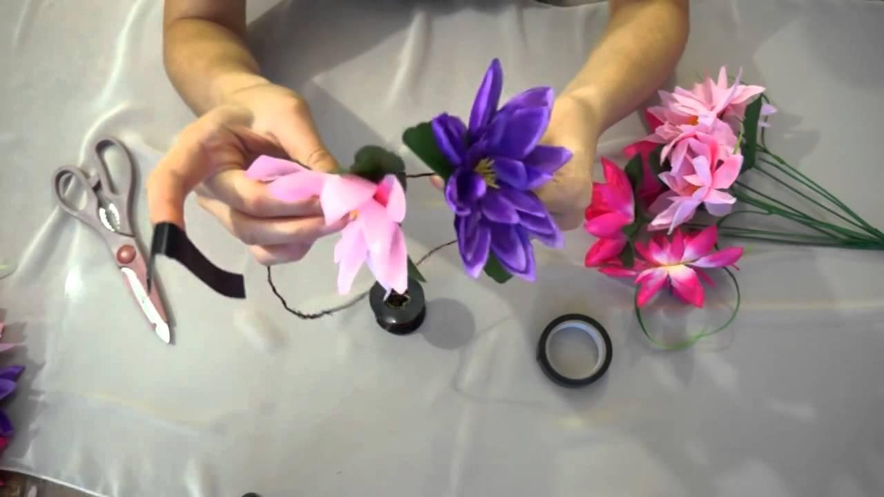 Изготовление искусственных цветов своими руками 139