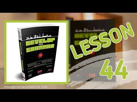 Lesson 44: The Passive
