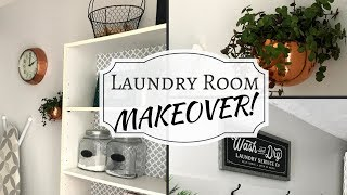 (15.2 MB) LAUNDRY ROOM MAKEOVER ON A BUDGET! | Organization Mp3