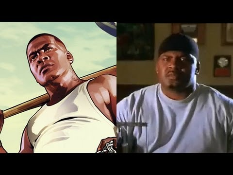 Franklin From GTA 5 Knocked Out Ice Cube & Took His Chain In Real Life!