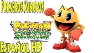 Pac-Man y Las Aventuras Fantasmales en Español HD - Primeros Minutos (Gameplay)