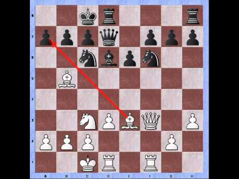 Bastiaan playing the Aasum gambit (Hector-Dunst): basics of the minority attack