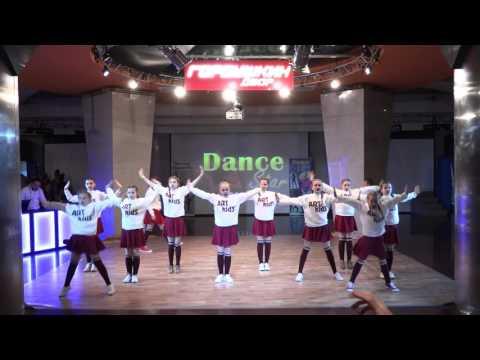 """Команда """"АrtKids"""" (Танцевальная студия АРТ-Лаборатория г. Дубна) 8-12 лет Рук. Анна Гречина"""