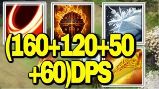 DPS Master!![Blade Fury+Flame Guard+Frost Shield+Radiance] || Ability Draft || Dota 2