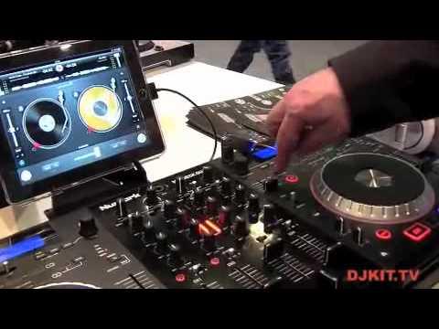 Numark Mixdeck Quad Four Deck Digital DJ System @ musikmesse 2012 with DJkit.tv