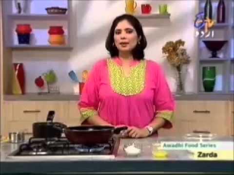 Aks-e-rasoi - Burrah Kebab, Zarda video