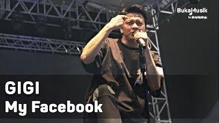 GIGI - My Facebook (Live at IIMS 2018 - with Lyrics)   BukaMusik