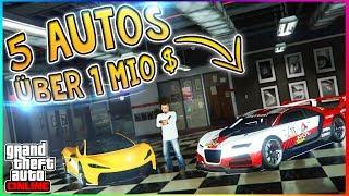 DIE 5 BESTEN AUTOS FÜR ÜBER 1.000.000$ IN GTA 5 ONLINE! | GTA V Best Cars!
