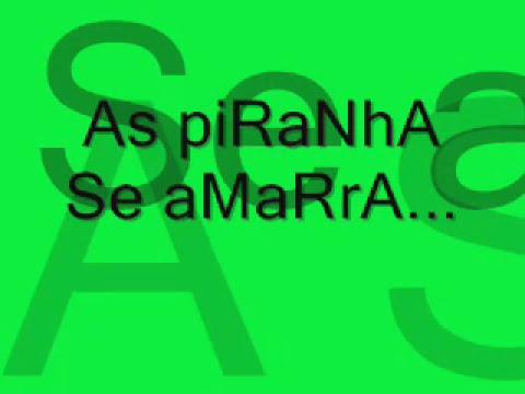 As PIRANHA SE AMARRA..