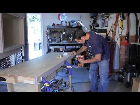 DIY Work Bench, Custom Work Bench, Build To YOUR Correct Work Height