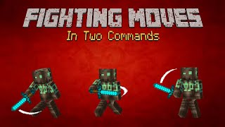 Minecraft - Fighting Moves [Two Commands]
