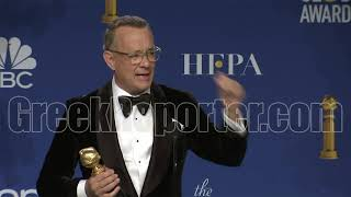 Tom Hanks on Being a Citizen of Greece