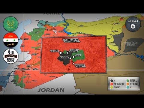 23 апреля 2018. Военная обстановка в Сирии. Крупные операции против ИГИЛ на западе и востоке Сирии.