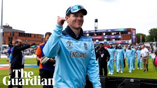 'It's weird, very strange': Eoin Morgan on hitting record 17 sixes for England