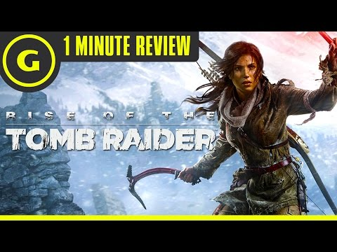Rise of the Tomb Raider on PC - 1 Minute Review