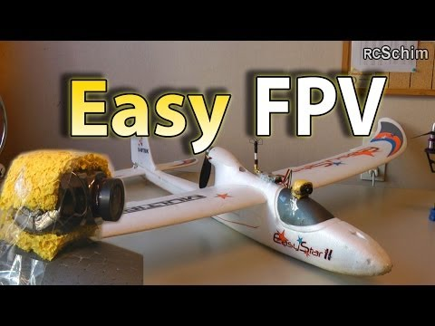 Multiplex Easystar 2 - most simple FPV plane - Setup. Tips. many flights. chase of other planes