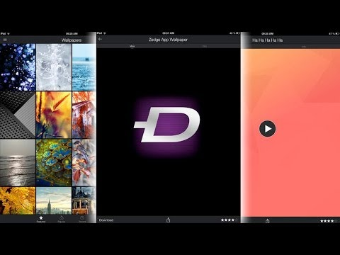 Zedge™ [ipad] Video Review By Stelapps video