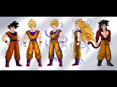 All Super Saiyan Forms (All Saiyans)