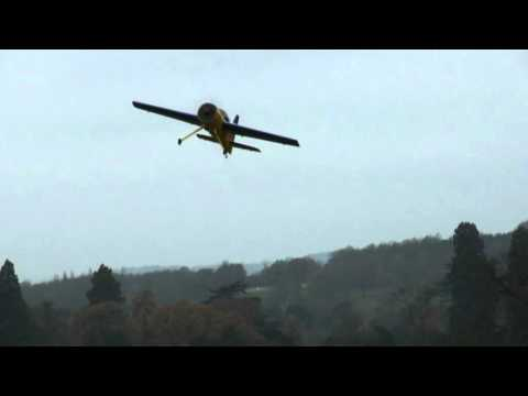 Robbie Skipton 60% RC Yak 54 LMA test flight 5/6