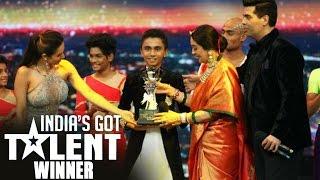 Flautist Suleiman WINS India's Got Talent Season 7