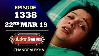 CHANDRALEKHA Serial | Episode 1338 | 22nd March 2019 | Shwetha | Dhanush | Nagasri |Saregama TVShows