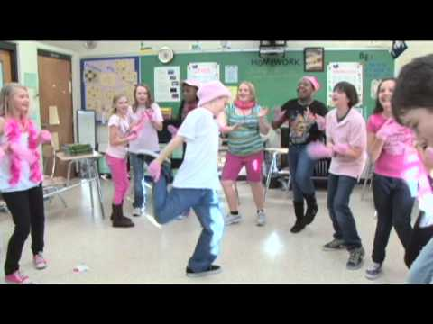 Making of PINK GLOVE DANCE Fernandina Beach Middle School