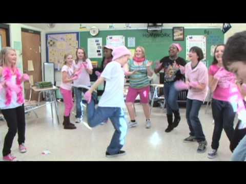 Making of PINK GLOVE DANCE Fernandina Beach Middle School