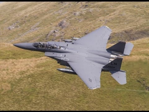 The Mach-Loop  USAF F15 Strike Eagles