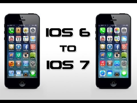 How To Easily Make iOS 6 Look Like iOS 7 For Free