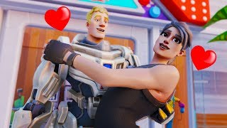 THE DEFAULT WHO FOUND LOVE... Fortnite Animation Movie Story