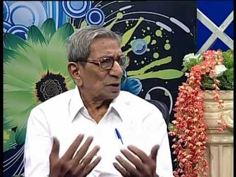 Interview with famous Hindi telugu writer, Hindi adviser to P.M Dr.Y.Balashouri Reddygaru