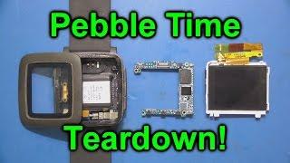 EEVblog #761 - Pebble Time Smartwatch Teardown