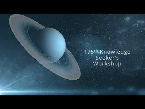 175th Knowledge Seekers Workshop June 8, 2017