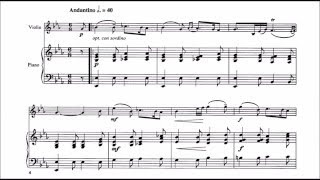 Maria Theresia Von Paradis Sicilienne For Violin And Piano Audio Sheet Music