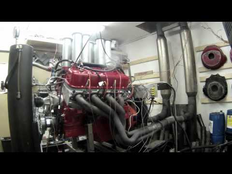 Thunder Custom Auto 632 c.i. Big Block Chevy with Hilborn 8 stack EFI