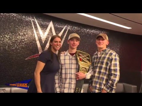 WWE grants Colby McMahon's wish at WWE Headquarters