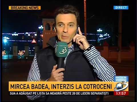 Mircea Badea, interzis la Cotroceni. Într-un stat  nu ar trebui să se întâmple