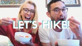 Lockdown Vlog: Leaving London, Our First Hike + Plant Based Meals!